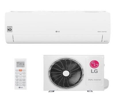Ar Condicionado Split Hi Wall LG DUAL Inverter Voice 12000 BTUs Frio - S4-Q12JA31C - 220V