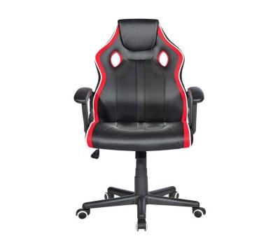 Imagem 1141 Cadeira Gamer com Base Revestida e Inclinação, Preta/Vermelha HC-2594  Vermelho