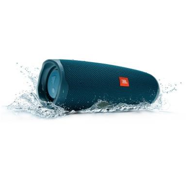 Caixa de Som Bluetooth Charge 4 Azul JBL à Prova d´água, carregador para celular