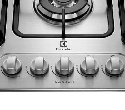 Leilão Cooktop Gas Electrolux Gt75X Bivolt