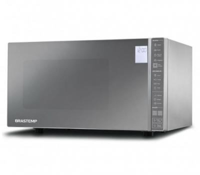 Imagem 407 Micro-ondas Brastemp 32 Litros cor Inox Espelhado com Painel Integrado