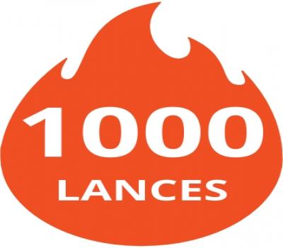 Pacote de 1000 lances
