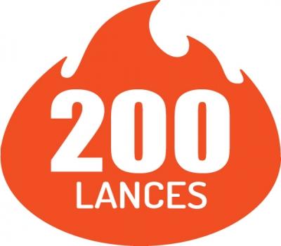 Pacote de 200 lances