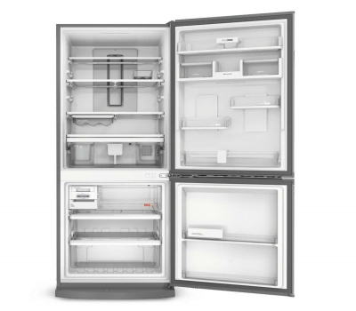 Refrigerador Brastemp Inverse BRE57AK Frost Free com Painel Eletrônico 443L Evox