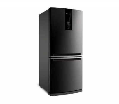 Leilão Refrigerador Brastemp Inverse BRE57AK Frost Free com Painel Eletrônico 443L Evox
