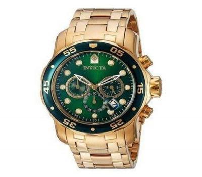 Leilão Relógio Invicta Pro Diver 0075 Dourado Masculino