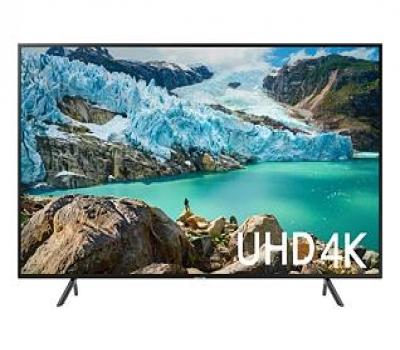 Leilão Smart TV LED 50 UHD 4K Samsung 50RU7100 Controle Remoto Único