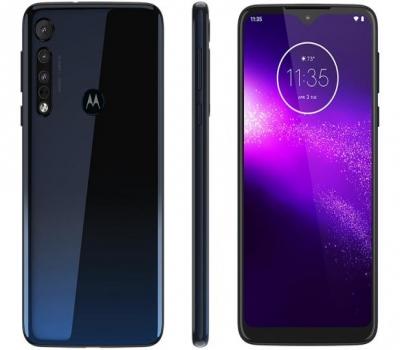 Imagem 3778 Smartphone Motorola One Macro 64GB Azul Espacial 4G 4GB RAM Tela 6,2 Câm. Tripla + Câm. Selfie 8MP