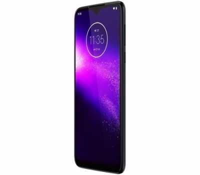 Imagem 1521 Smartphone Motorola One Macro 64GB Azul Espacial 4G 4GB RAM Tela 6,2 Câm. Tripla + Câm. Selfie 8MP