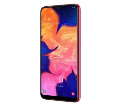 Imagem 413 Smartphone Samsung Galaxy A10 Vermelho 32GB, Tela Infinita de 6.2``